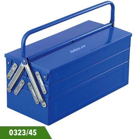 Thùng đồ nghề 5 ngăn 0323/45 Fervi, không bao gồm tools.