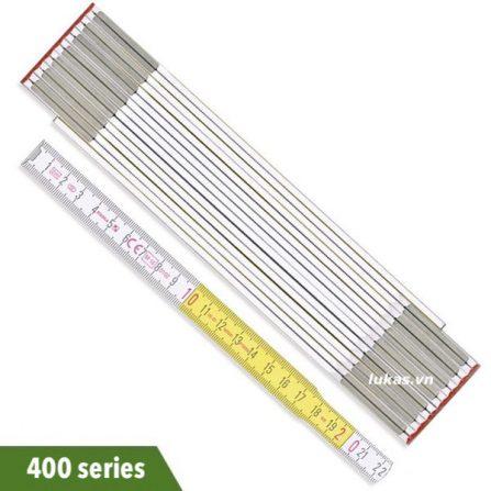 Thước xếp 2-3 mét bằng gỗ sồi 400 series Stabila Germany.