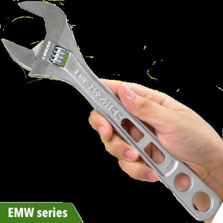 Mỏ lết ngàm rộng từ 6 đến 12 inch EMW series MCC Japan.