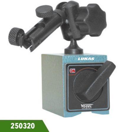 Chân đế gá đồng hồ so 45mm có từ tính 300N 250320 Vogel Germany.