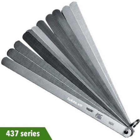 Thước căn lá inox 150-300mm cho piston 437 series Vogel Germany.