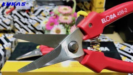 Kéo đa năng cắt tỉa cành 190mm 498-2 Elora Germany.