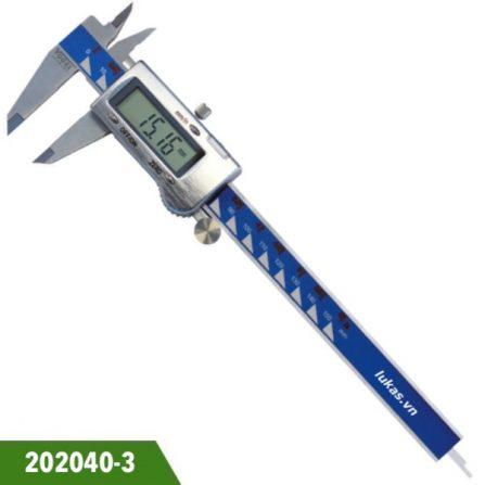 Thước cặp điện tử 150mm 202040-3 inox Vogel Germany.