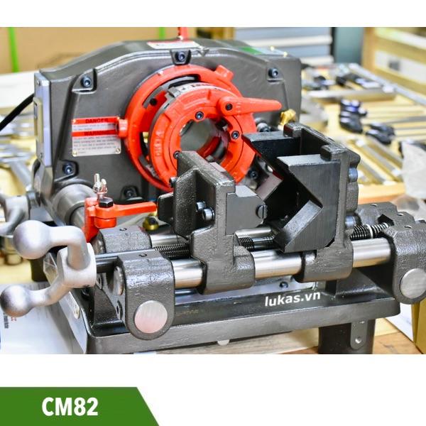 Máy tiện ren ống 77mm CM82 MCC Japan, sản xuất tại Nhật.