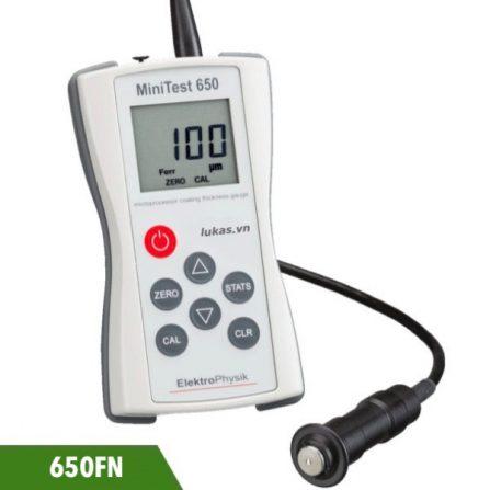 Máy đo bề dày lớp phủ từ tính và không từ tính Minitest 650FN ElektroPhysik Germany.