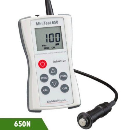 Máy đo bề dày lớp phủ không từ tính Minitest 650N ElektroPhysik Germany.