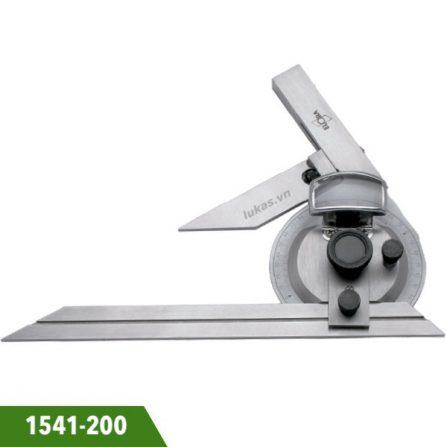 Thước đo góc đa năng 200mm 1541-200 Elora Germany.