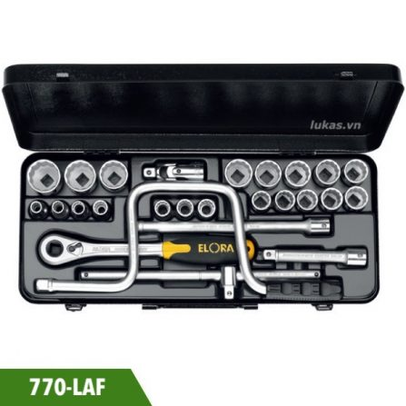 Bộ khẩu 24 món 1/2 inch 770-LAF Elora Germany.