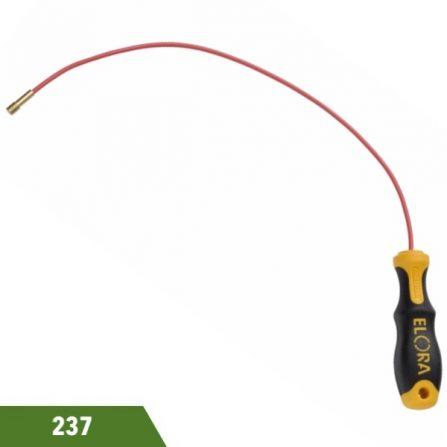 Dụng cụ nhặt phụ tùng đầu có nam châm vĩnh cữu Elora 237 series.